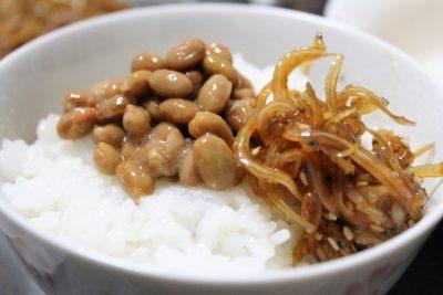 納豆シラスご飯