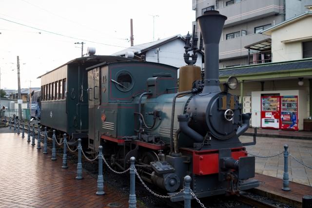 松山市の坊ちゃん列車