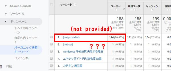 Analyticsのレポートページ画像