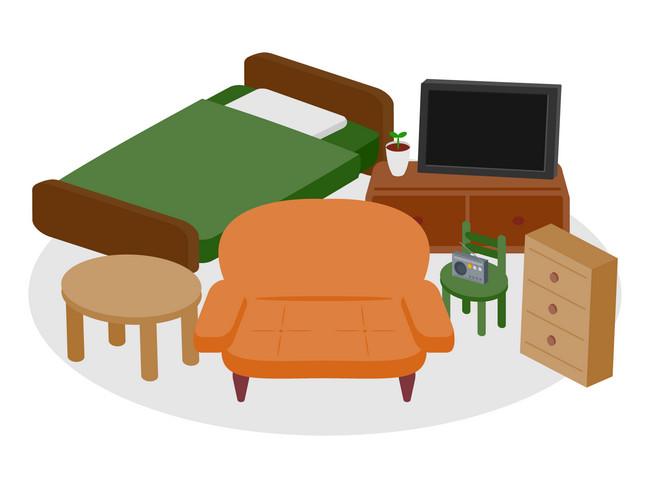 家具のイラスト