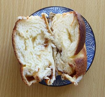 パンの半割り