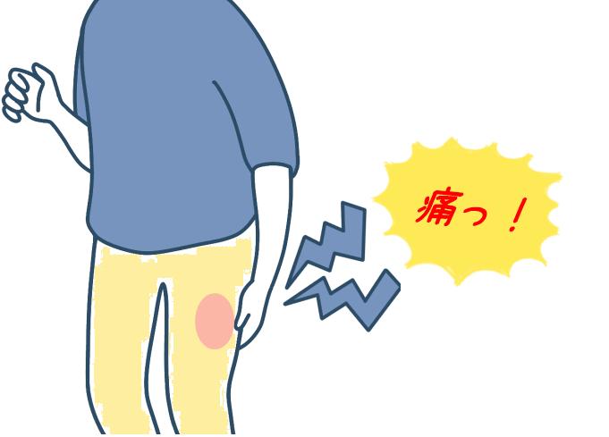 大腿部のやけどのような痛みは「感覚異常性大腿神経痛」その原因にショック